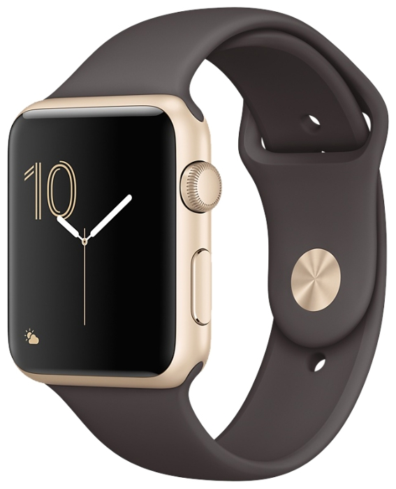 Apple Watch Series 2 42mm with Sport Band Gold