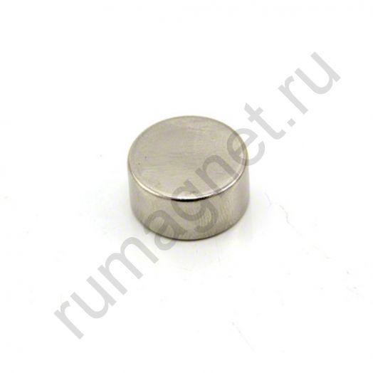 Неодимовый магнит диск 20x10 мм