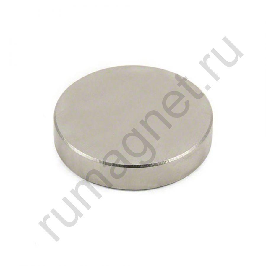 Неодимовый магнит диск 50x10 мм