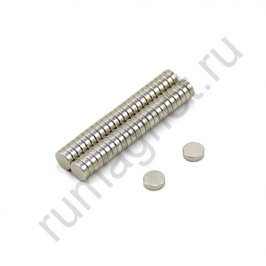 Неодимовый магнит диск 5x2 мм
