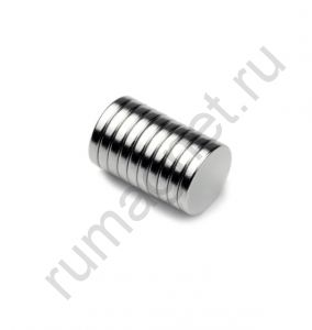 Неодимовый магнит 13x2 мм