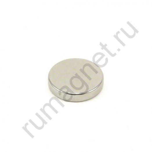 Неодимовый магнит диск 25x5 мм