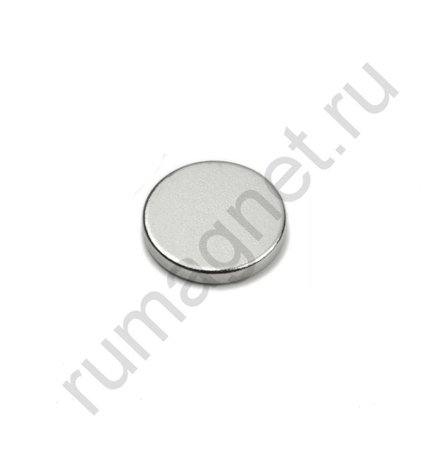 Неодимовый магнит диск 13x2 мм