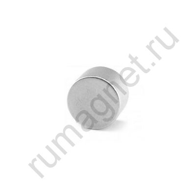 Неодимовый магнит диск 18x10 мм