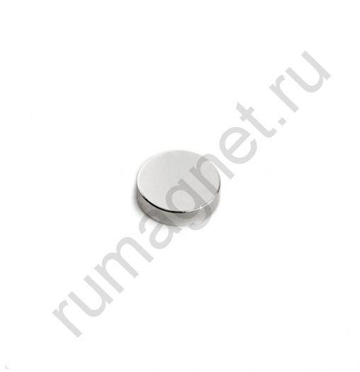 Неодимовый магнит диск 9x2 мм