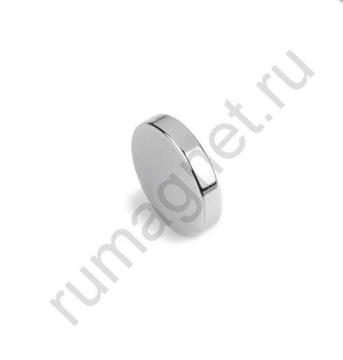 Неодимовый магнит диск 14x3 мм