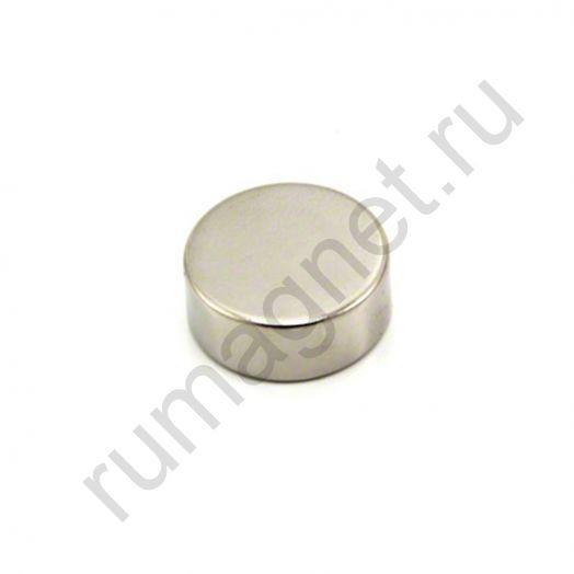 Неодимовый магнит диск 25x10 мм