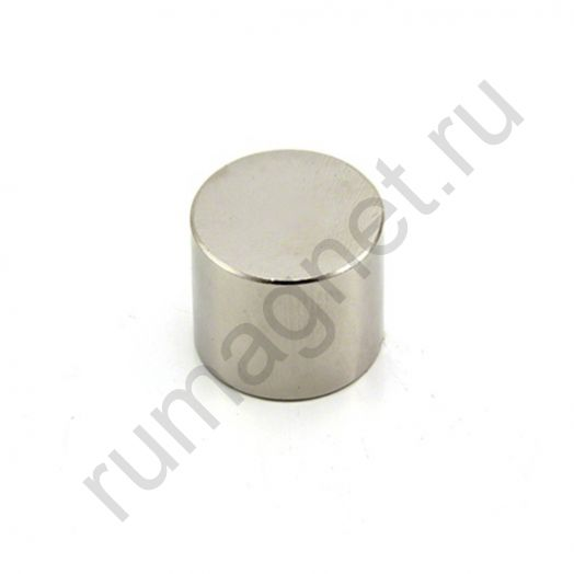Неодимовый магнит диск 20x20 мм