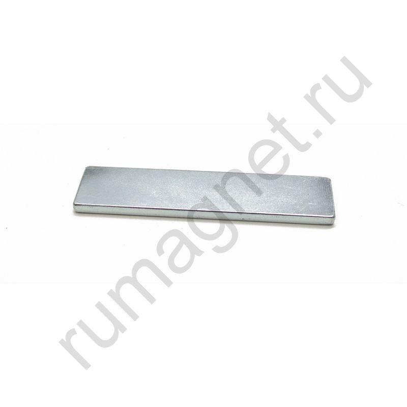 Неодимовый магнит прямоугольник 64x15x3 мм