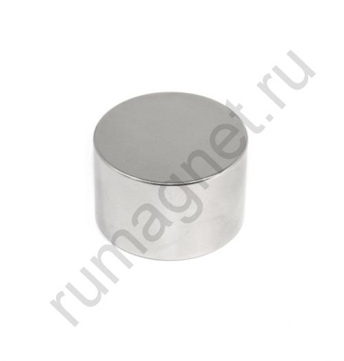 Неодимовый магнит диск 45x20 мм