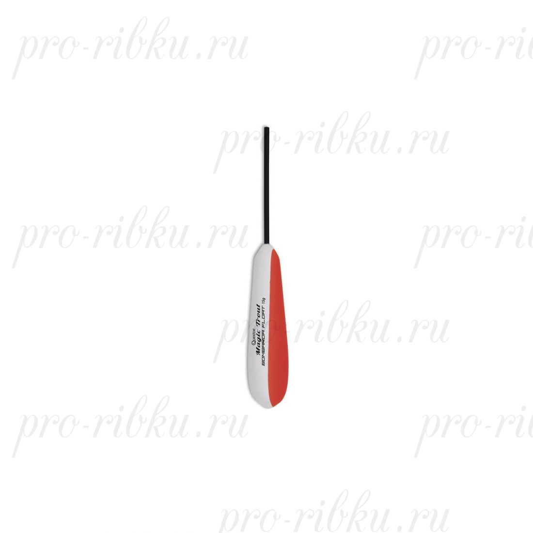 Бомбарда Quantum Bombarda Float 10g 1cont white/red