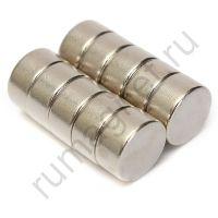 Неодимовый магнит 10x5 мм