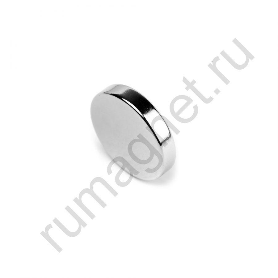 Неодимовый магнит диск 18x5 мм
