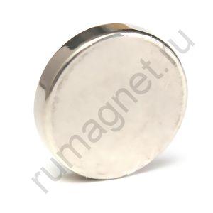 Неодимовый магнит 25x5 мм
