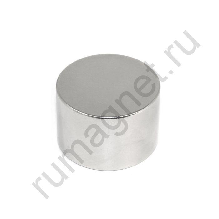 Неодимовый магнит диск 45x25 мм