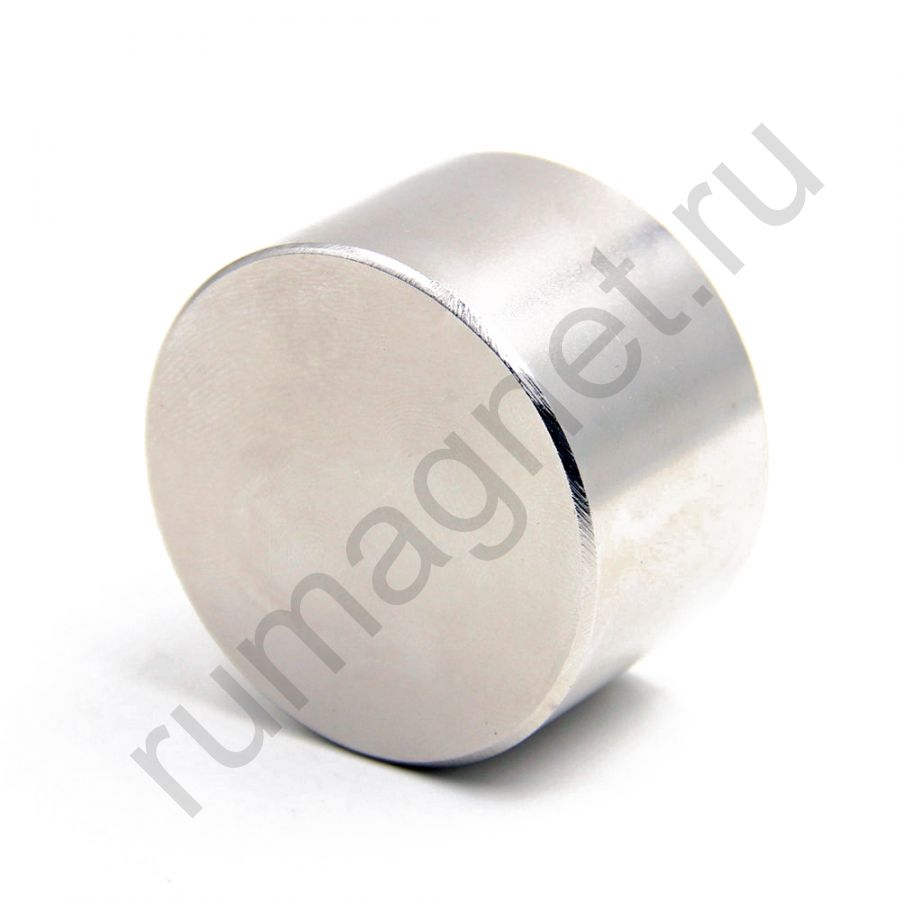 Неодимовый магнит диск 55x25 мм