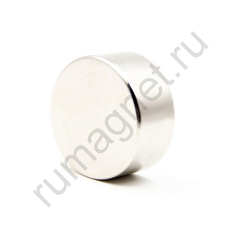 Неодимовый магнит диск 50x20 мм