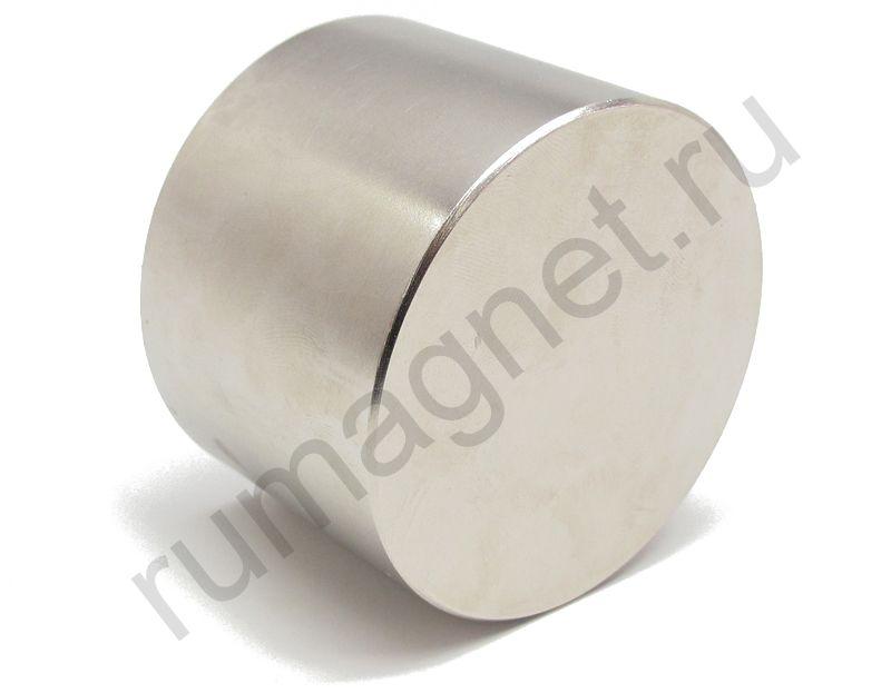 Неодимовый магнит диск 70x50 мм