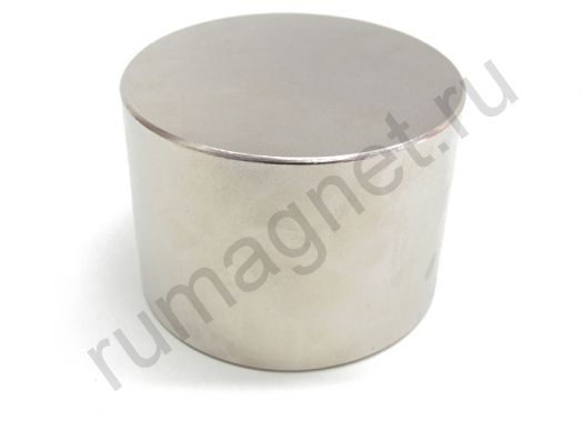 Неодимовый магнит диск 70x40 мм