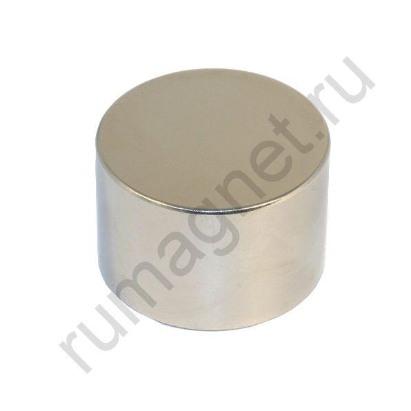 Неодимовый магнит диск 60x40 мм