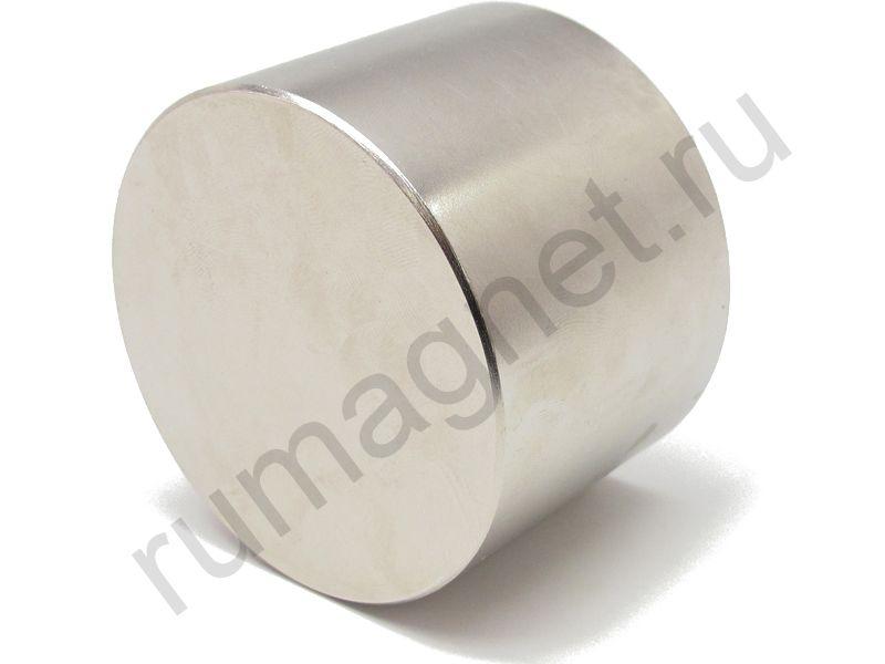 Неодимовый магнит диск 70x60 мм