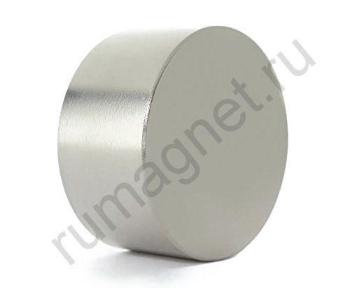 Неодимовый магнит диск 100x40 мм