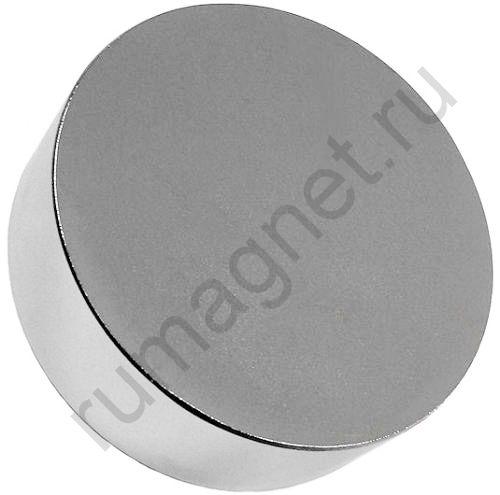 Неодимовый магнит диск 120x40 мм