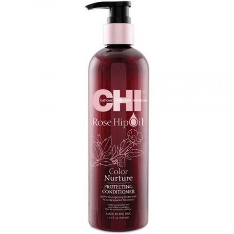 Кондиционер для волос с маслом лепестков роз/ CHI Rose Hip Oil Conditioner, 25oz/739мл фл.