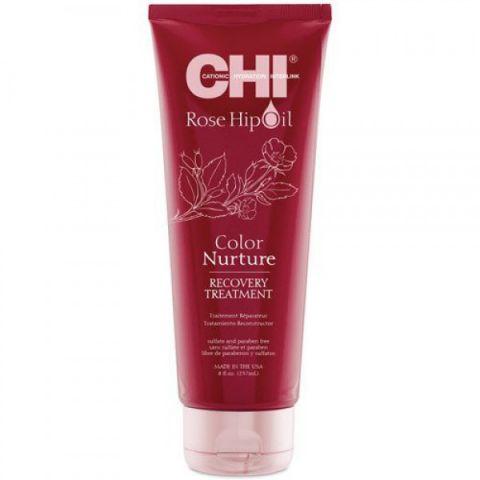Маска для волос  с экстрактом лепестков роз / CHI Rose Hip Intense Treatment  TREATMENT, 8oz/237мл туба