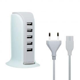Зарядное устройство на 5 USB портов (4А)