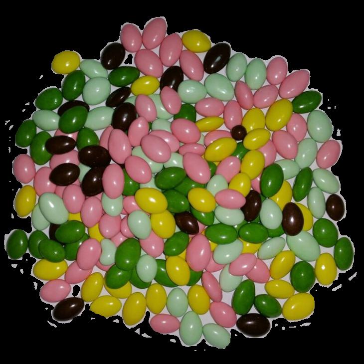 Семечки тыквенные в цветной глазури 100г