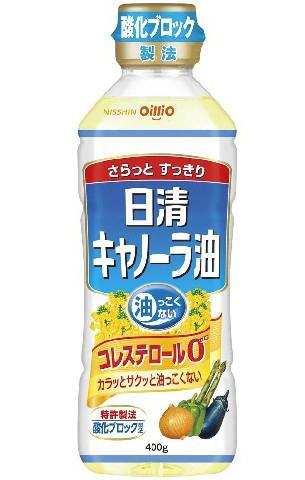 """Масло каноловое, салатное """"Nisshin Canola Oil"""", 400 гр."""