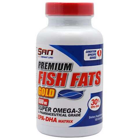 SAN Premium Fish Fats Gold 120капс скл2