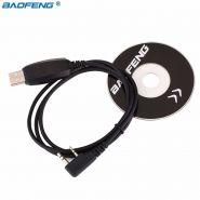 USB Кабель и CD диск для программирования раций Baofeng,Kenwood