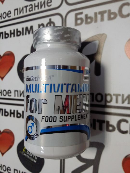 BioTech - Multivitamin for Men (60 таб)