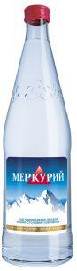 Доставка минеральной воды Меркурий негаз 0,5 литра стекло (1 уп./12 бут.)