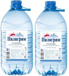 Доставка воды Пилигрим 2 бутыли по 5 литров