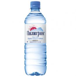 Доставка воды Пилигрим негаз 0,5 литра (1 уп./12 бут.)