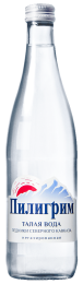 Доставка воды Пилигрим негаз 0,5 литра стекло (1 уп./12 бут.)