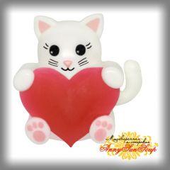"""Мыло """"Котёнок с сердцем"""""""