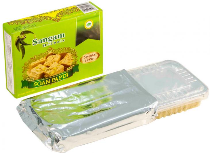 Индийская халва Soan Papdi без сахара (250 гр)