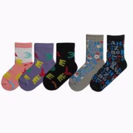 Детские(подростковые) носки С503 буквы