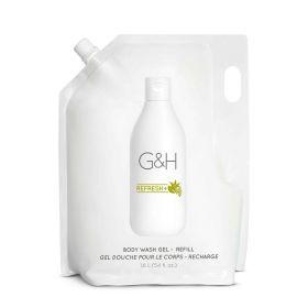 G&H REFRESH+ Освежающий гель для душа, сменный блок