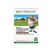 NUTRILITE™ Детские жевательные пастилки с кальцием, магнием и витамином D. Со вкусом шоколада