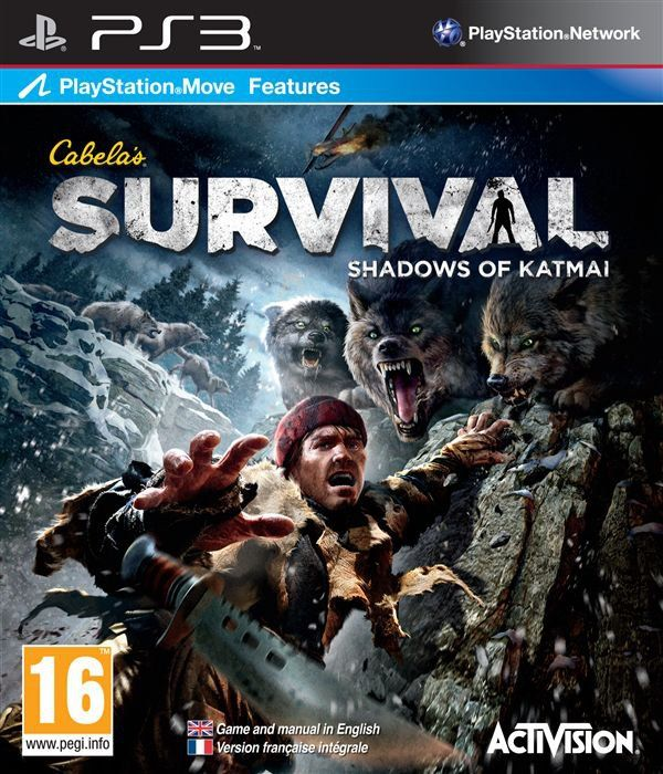 Игра Cabela's Survival Shadows of Katmai (PS3)