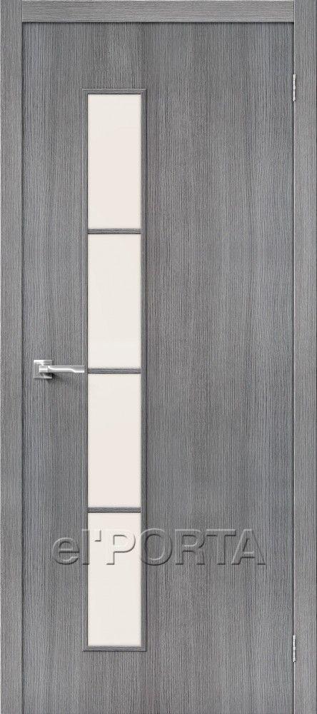 Межкомнатная дверь Серия ТРЕНД-4  Grey Veralinga