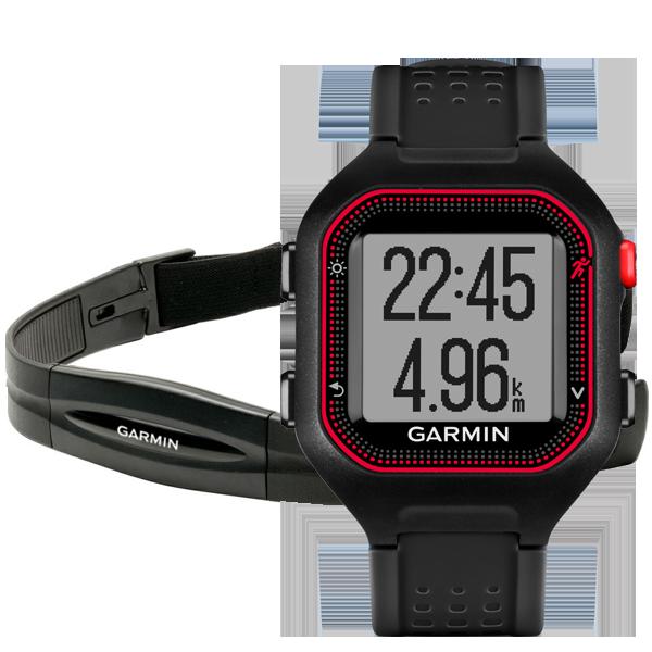 Garmin Forerunner 25 часы с пульсометром и GPS