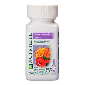 NUTRILITE™ Жевательные таблетки концентрат овощей и фруктов