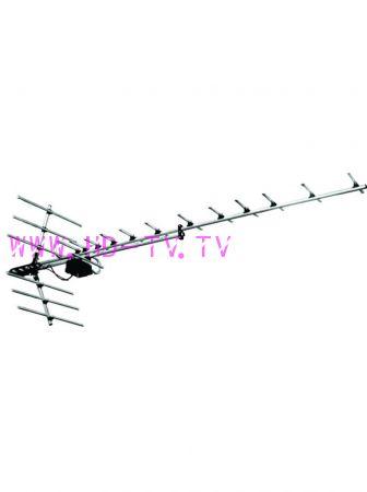 Антенна наружная всеволновая Дельта Н1181АF с усилителем