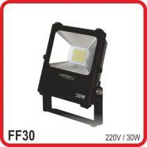 Прожектор светодиодный LED 30 Вт, RGB